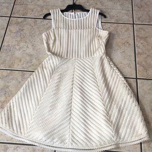 Gorgeous dressy cream dress